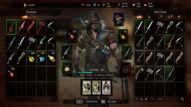 Victor-vran-inventory